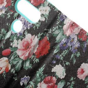 Wall peňaženkové puzdro pre LG G5 - kvetiny - 6