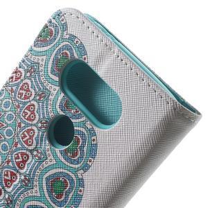Wall peňaženkové puzdro pre LG G5 - pattern - 6