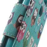 Wall peňaženkové puzdro pre LG G5 - malej sovy - 6/7