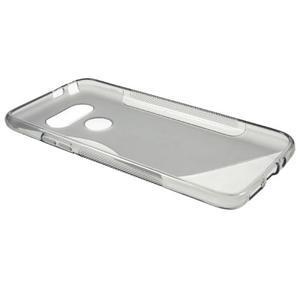 S-line gélový obal pre mobil LG G5 - sivý - 6