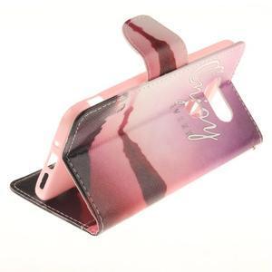 Obrázkové koženkové puzdro pre LG G5 - enjoy - 6