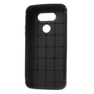 Rubby gelový kryt na LG G5 - černý - 6