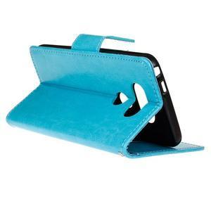 Lees peňaženkové puzdro pre LG G5 - modré - 6