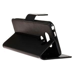 Lees peňaženkové puzdro pre LG G5 - čierne - 6