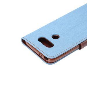 Jeans peňaženkové puzdro pre LG G5 - svetlomodré - 6