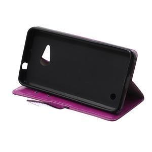 GX koženkové puzdro pre mobil Microsoft Lumia 550 -  fialové - 6