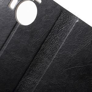 Horse Peňaženkové puzdro pre Microsoft Lumia 950 XL - čierne - 6