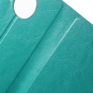 Horse Peňaženkové puzdro pre Microsoft Lumia 950 XL - modré - 6