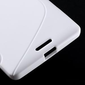 S-line gélový obal pre mobil Microsoft Lumia 950 XL - biely - 6