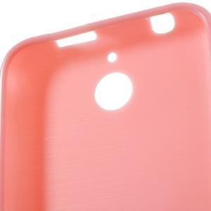 Jelly lesklý gelový obal na HTC Desire 510 - růžový - 6