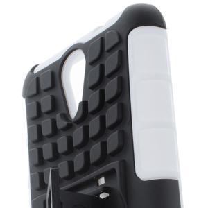Outdoor odolný obal na mobil HTC Desire 620 - bílý - 6
