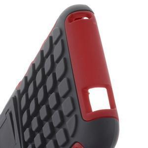 Outdoor odolný obal na mobil HTC Desire 620 - červený - 6