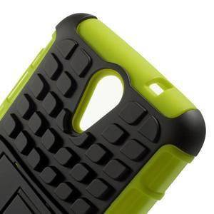 Outdoor odolný obal na mobil HTC Desire 620 - zelený - 6