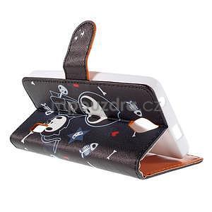Zapínacie peňaženkové puzdro na Huawei Y635 - fishbone - 6