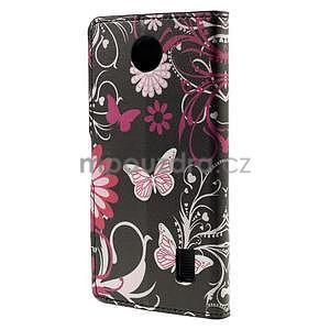Peňaženkové puzdro na Huawei Y635 - motýlikové - 6