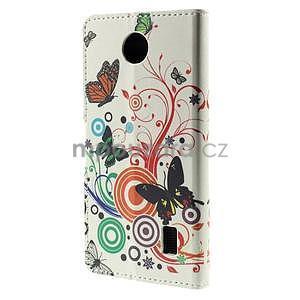 Peňaženkové puzdro na Huawei Y635 - motýle - 6