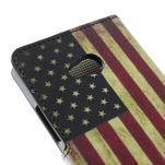 Peňaženkové puzdro na Microsoft Lumia 640 - vlajka USA - 6/7