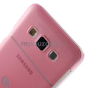 Plastový obal na Samsung Galaxy A3 - růžový - 6
