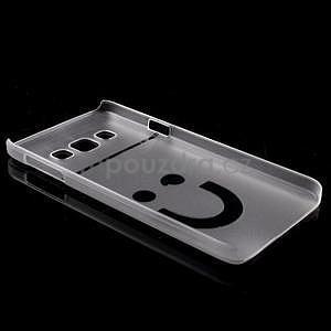 Plastový obal na Samsung Galaxy A3 - biely - 6