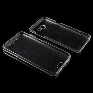 Gélový obal 2v1 pro zadní kryt a displej pre Samsung Galaxy A5 (2016) - transparentný - 6