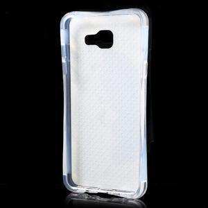 Tvarovaný gelový obal na Samsung Galaxy A5 (2016) - fialové pampelišky - 6