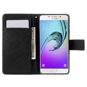 Štýlové puzdro pre mobil Samsung Galaxy A5 (2016) - vlci - 6