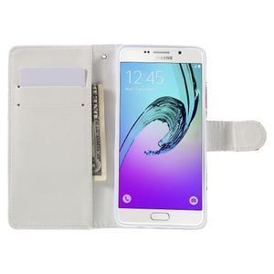 Stylové pouzdro na mobil Samsung Galaxy A5 (2016) - srdíčka - 6