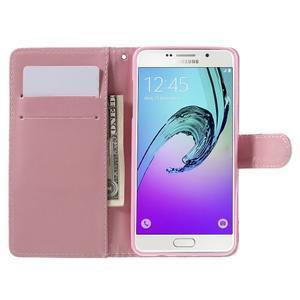 Štýlové puzdro pre mobil Samsung Galaxy A5 (2016) - srdca - 6