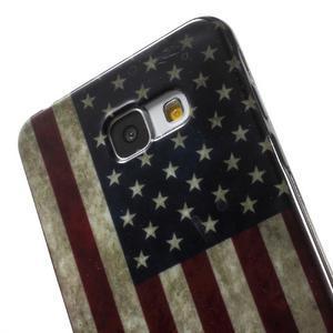 Obal s motívom pre mobil Samsung Galaxy A5 (2016) - US vlajka - 6