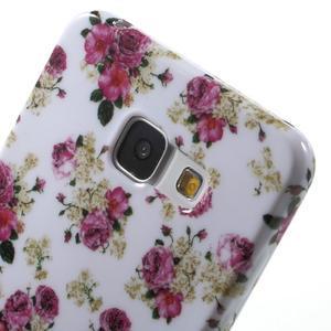 Obal s motivem na mobil Samsung Galaxy A5 (2016) - květiny - 6