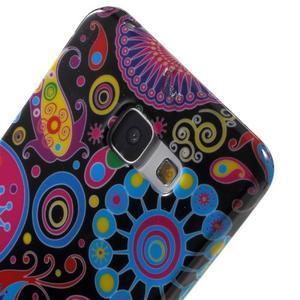 Obal s motívom pre mobil Samsung Galaxy A5 (2016) - farebné kruhy - 6