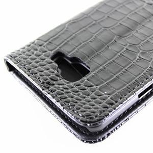 Croco peněženkové pouzdro Samsung Galaxy A5 (2016) - černé - 6