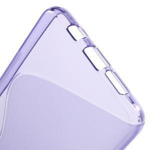 S-line gelový obal na mobil Samsung Galaxy A5 (2016) - fialový - 6