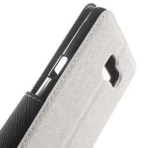 Peňaženkové puzdro s okienkom pre Samsung Galaxy A5 (2016) - biele - 6