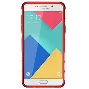 Outdoor odolný kryt pre mobil Samsung Galaxy A5 (2016) - červený - 6