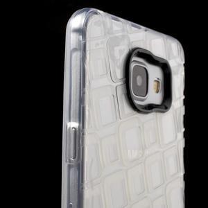 Square gélový obal pre mobil Samsung Galaxy A5 (2016) - transparentný - 6
