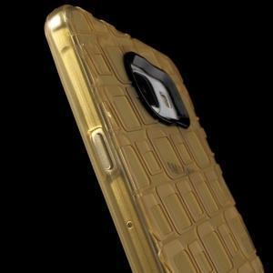 Square gélový obal pre mobil Samsung Galaxy A5 (2016) - zlatý - 6