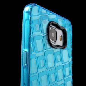 Square gelový obal na mobil Samsung Galaxy A5 (2016) - modrý - 6