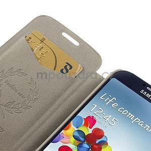 hnedé peňaženkové puzdro na Samsung Galaxy K Zoom C115 - 6