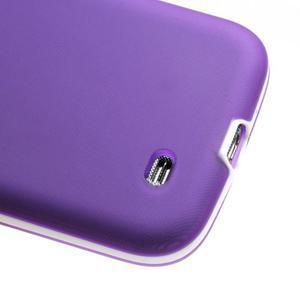 Gelové pouzdro 2v1 na Samsung Galaxy S4 - fialové - 6