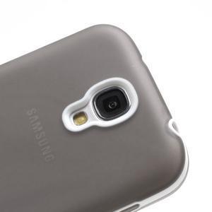 Gélové puzdro 2v1 pre Samsung Galaxy S4 - šedé - 6