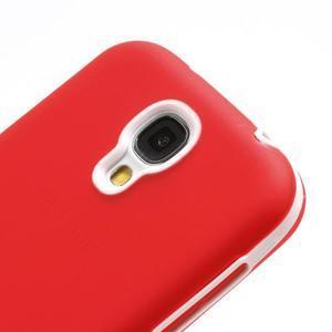 Gelové pouzdro 2v1 na Samsung Galaxy S4 - červené - 6