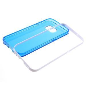 Dvoudílný obal na mobil Samsung Galaxy S7 - modrý - 6