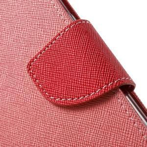 Mercury Orig PU kožené pouzdro na Samsung Galaxy S7 - růžové - 6
