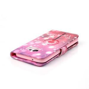 Cross peňaženkové puzdro pre Samsung Galaxy S7 - púpava - 6