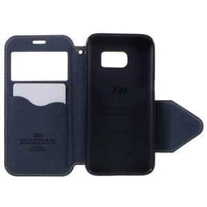 Diary pouzdro s okýnkem na Samsung Galaxy S7 - zelené - 6