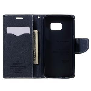 Goosper PU kožené puzdro pre Samsung Galaxy S7 - zelené - 6