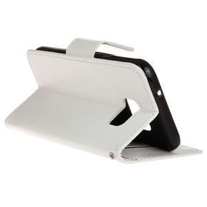 Stand peňaženkové puzdro pre Samsung Galaxy S7 - biele - 6