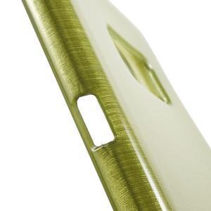Brush gelový obal na mobil Samsung Galaxy S7 - zelený - 6