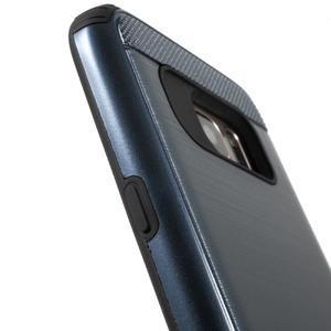 Dvoudílný odolný kryt na Samsung Galaxy S7 - tmavěmodrý - 6